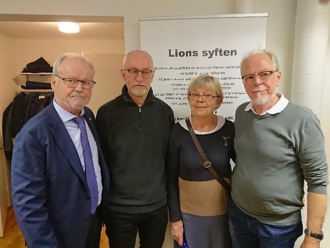 Lions Club Luleå har hållit sitt januarimöte