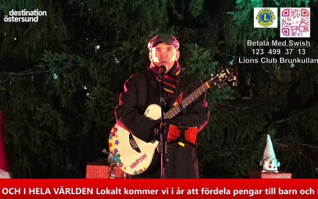 Invigning av årets Julgran i Östersund